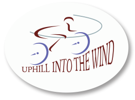Uphill Into the Wind Logo