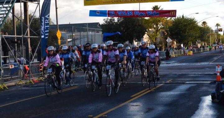 El Tour de Tucson Team Finish Photo